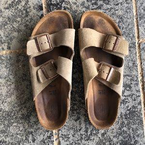 Birkenstock beige sandals